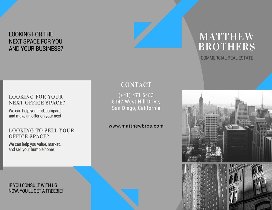 Tri-Fold Brochure Design 3