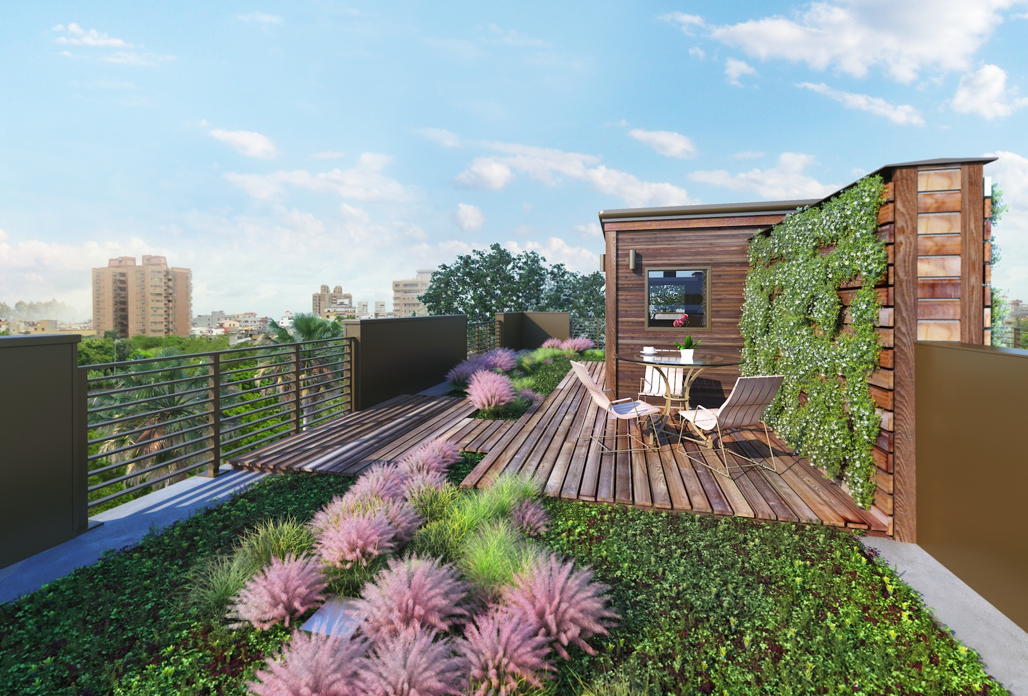 Aloha Construction Discusses Green Roofs