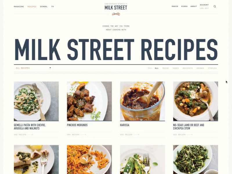 Milk Street Is Available In All Kinds Of Platforms To Give Cooking Inspiration