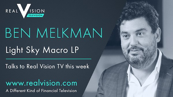 Ben Melkman Established Light Sky Macro After Stellar Career With Major Financial Firms