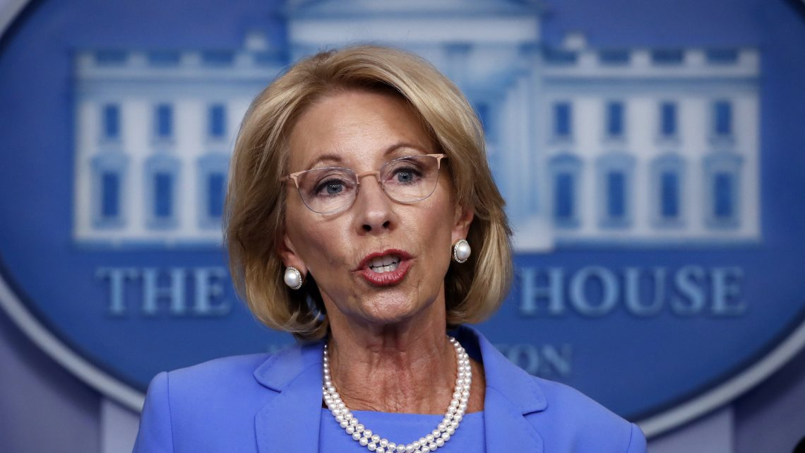Betsy DeVos Takes CARES Act Money Away From Undocumented Students To Fund Her For-Profit School Agenda