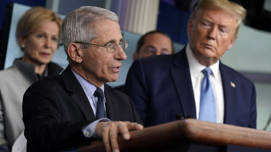 Dr. Fauci: COVID-19 Still With Us