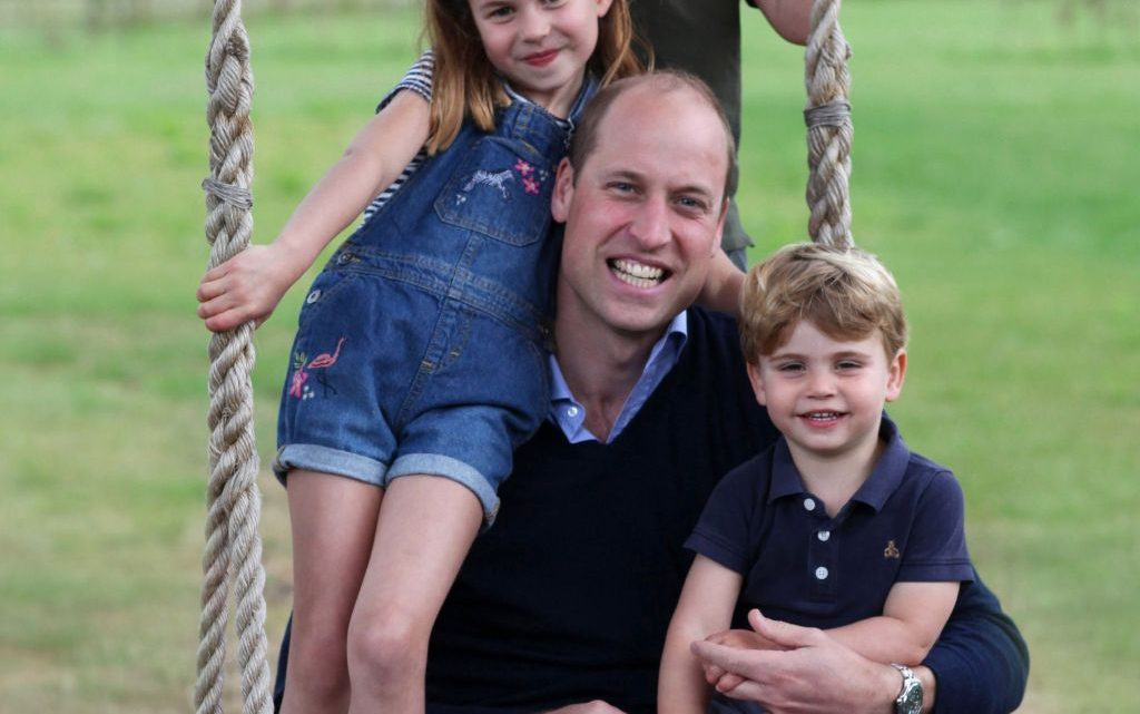 Prince William Celebrates Father's Day With His Children