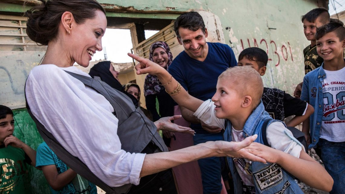 Angelina Jolie Take of Refugee Crisis Worldwide