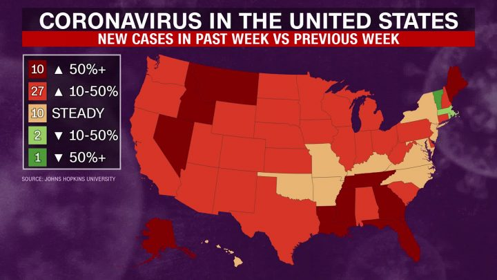 The Latest Coronavirus Updates in the United States