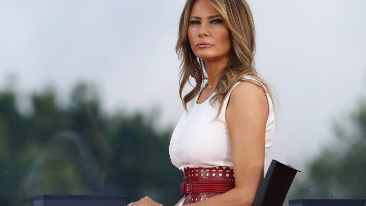 First Lady Melania Trump: A Role Model For Young Girls In America