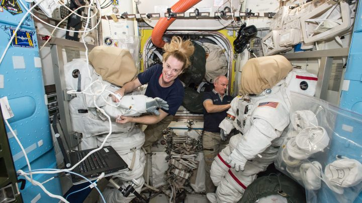 Astronaut Kate Rubins Heads to the International Space Station for Microbiome Research Study