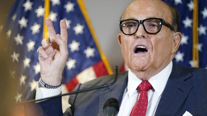 Rudy Giuliani Latest Trump Team Member to Test Positive for COVID-19