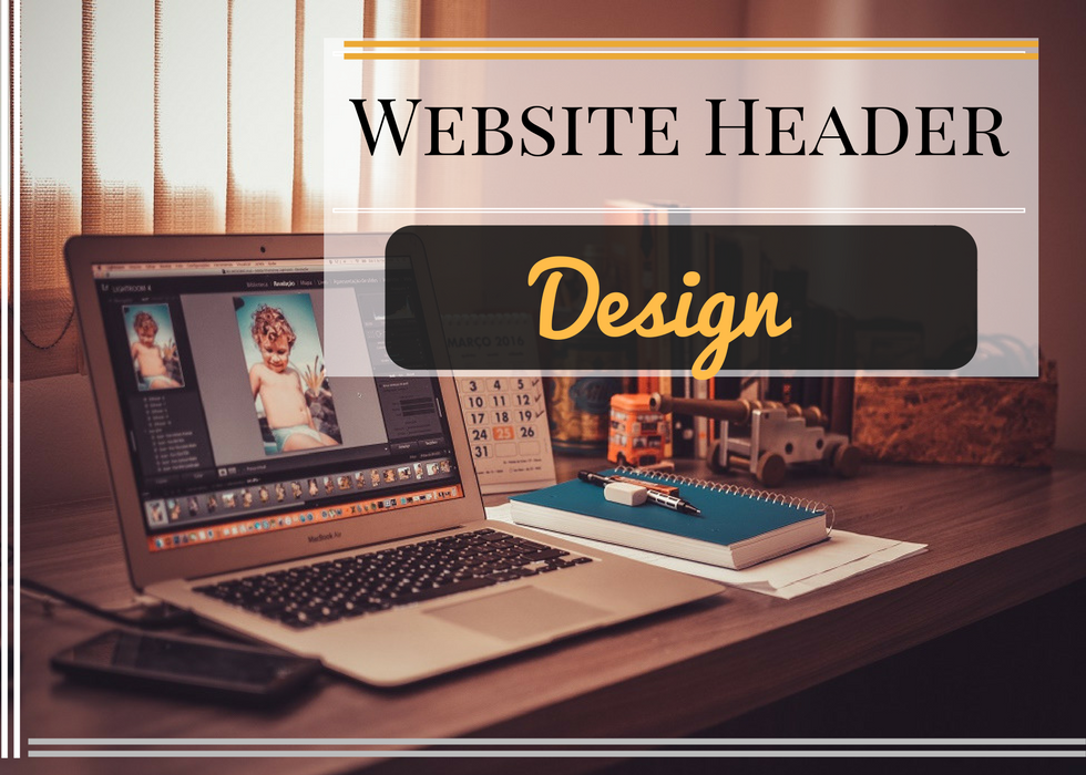 website header design